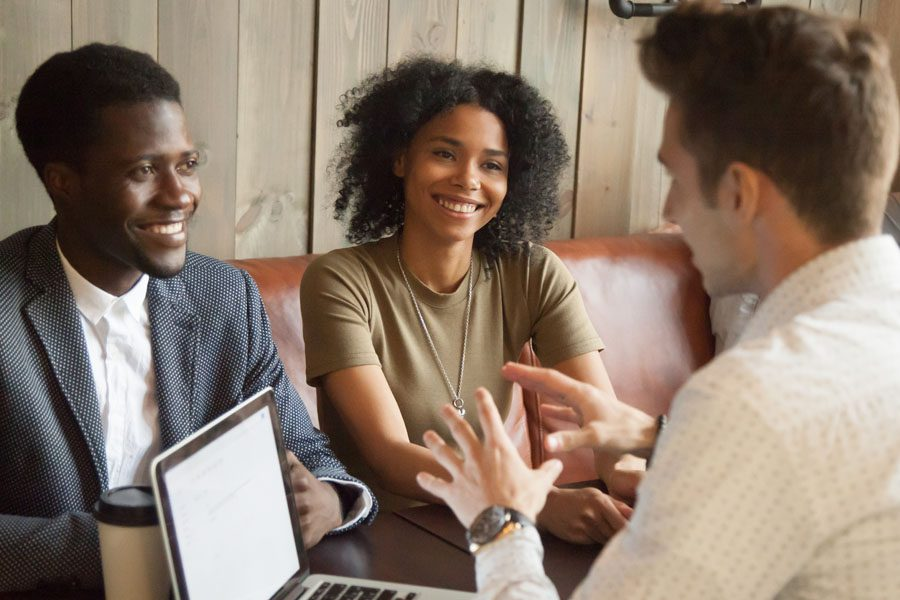 401k - Couple Working with a Financial Planner