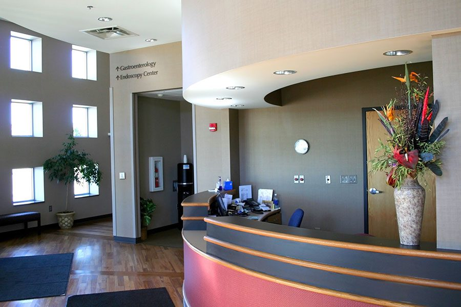 Specialized Business Insurance - Interior View of Modern Hospital Waiting Room