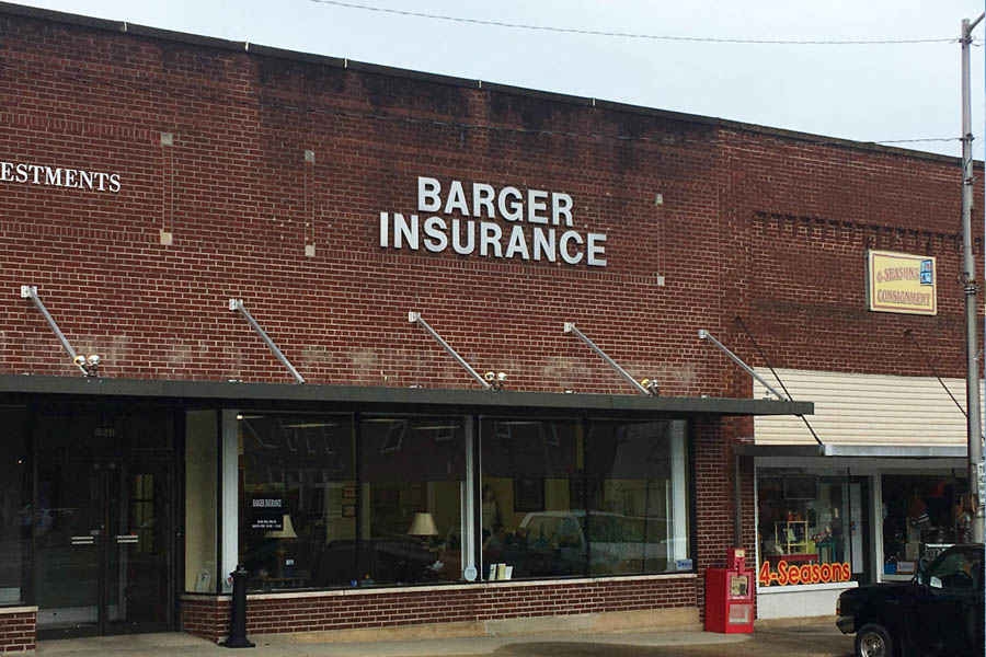Columbia KY Insurance - Front of Brick Building of Barger Insurance