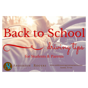 Back to school auto insurance teen & student driving tips