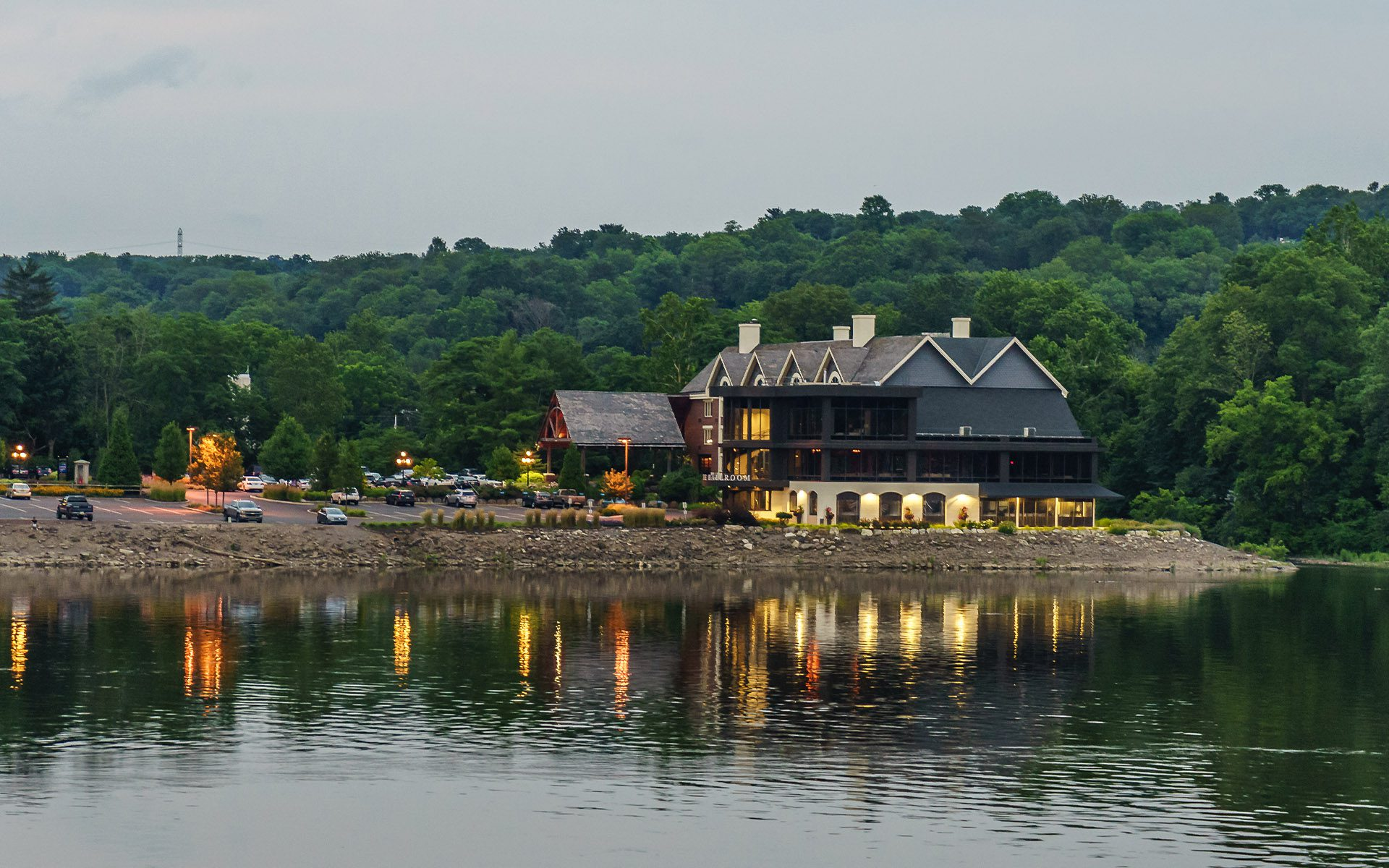 Homepage - Delaware River at Summer from Historic New Hope, PA