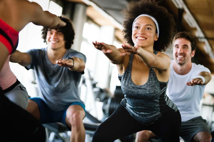Specialized Business Insurance - Fun Fitness Class with Happy Athletes