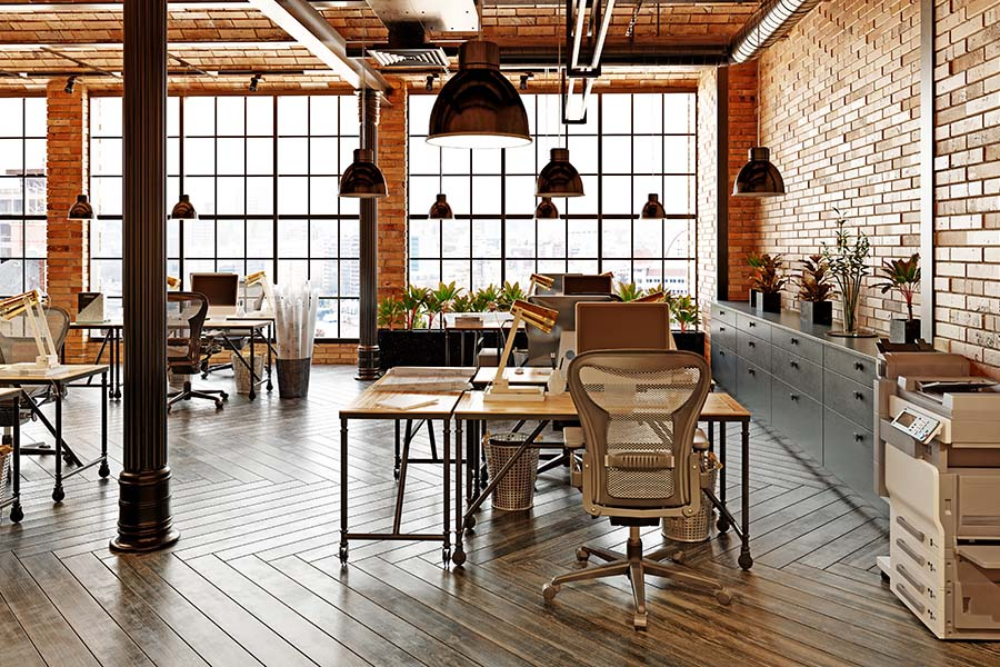 Business Insurance - View Of Bright And Spacious Modern Office
