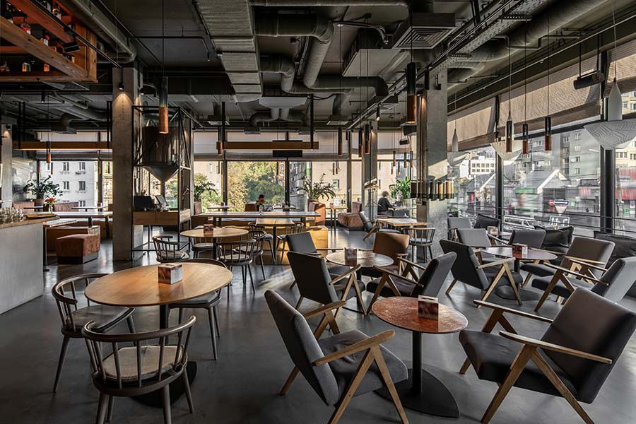 Specialized Business Insurance - Interior Of Modern Cafe Restaurant In The City