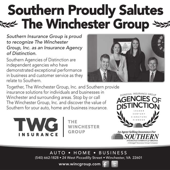Southern Proudly Salutes The Winchester Group