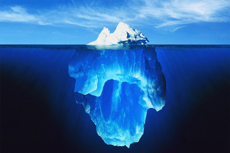 About Our Agency - Photo of an Iceberg Floating in the Water