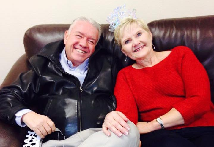 Our Story - Wayne and Wife Susan on Couch on New Years Eve