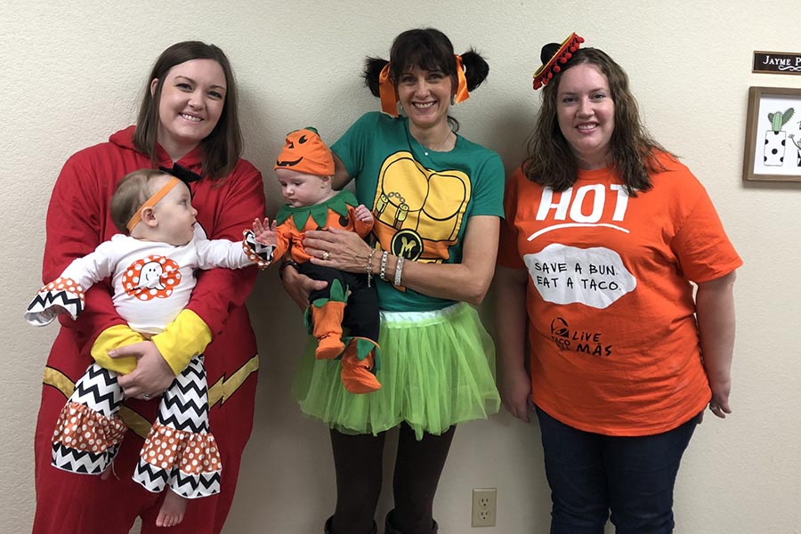 Eagle Insurance Services - Group Shot Costumes