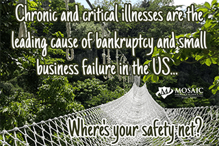 chronic illnesses are a leading cause of US bankruptcy--do you have life insurance?