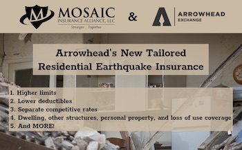 Arrowhead Earthquake Insurance