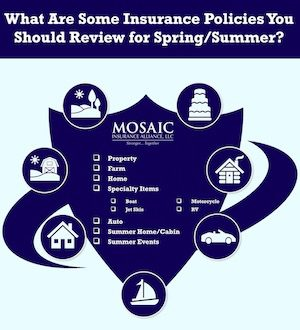 Insurance For Spring And Summer