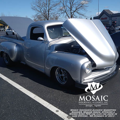Blog - Classic Auto Insurance, Silver Classic Care with Hood and Trunk Open in Lynnwood Washington with Mosaic Insurance Alliance
