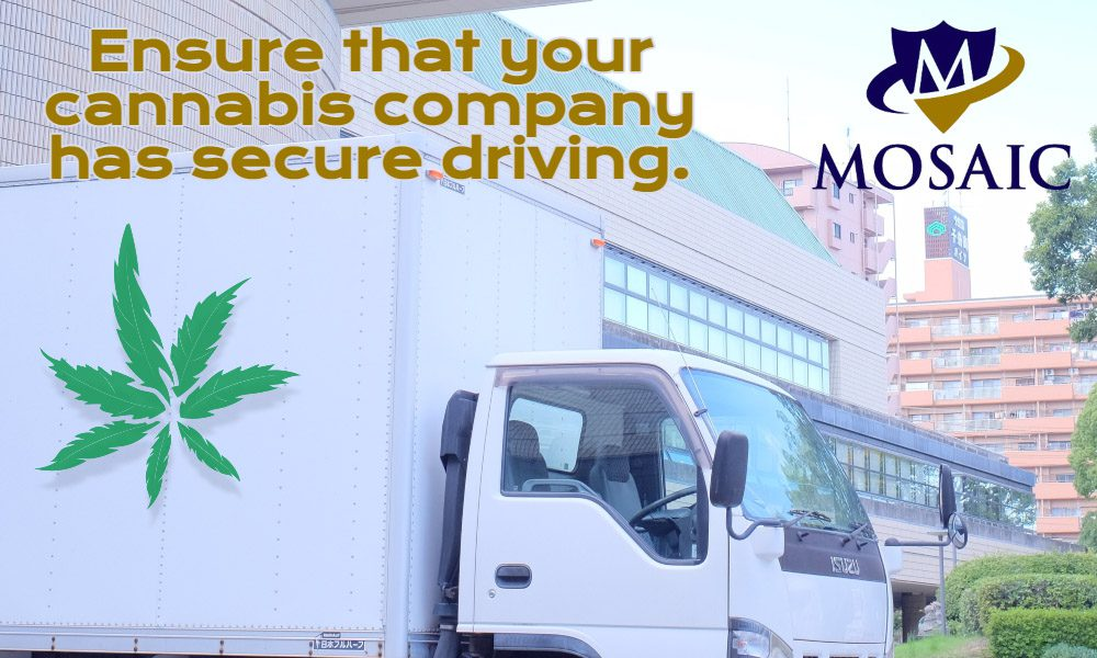 Blog Featured Image - Secure Driving for Your Cannabis Business - Cannabis Truck Parked At A Warehouse