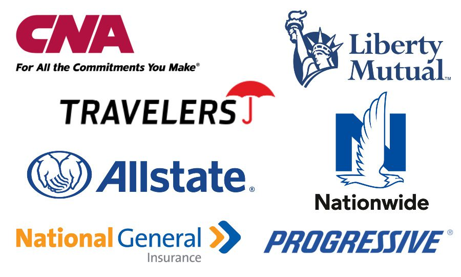 Commercial Auto Insurance Top Carriers-CNA-Liberty Mutual-Travelers-Allstate-Nationwide-National General-Progressive