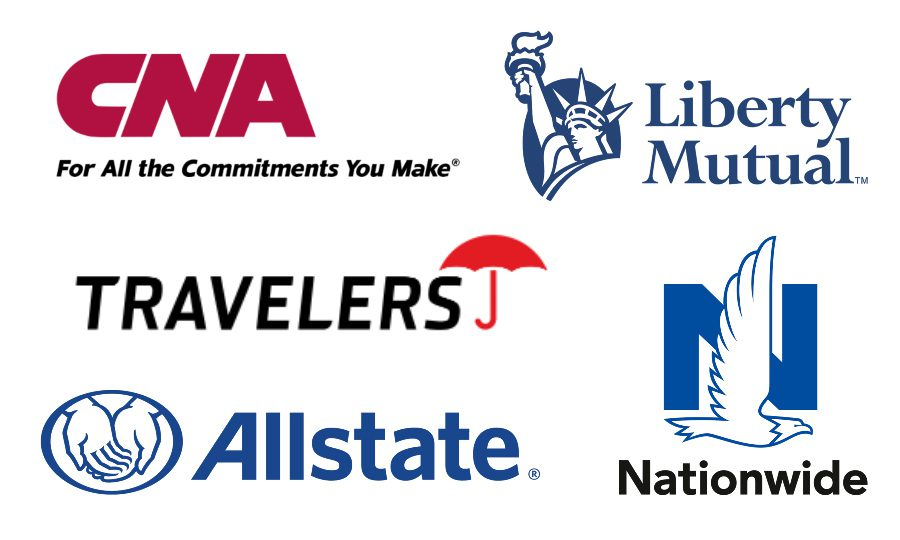 Contractor Insurance Top Carriers-CNA-Liberty Mutual-Travelers-Allstate-Nationwide