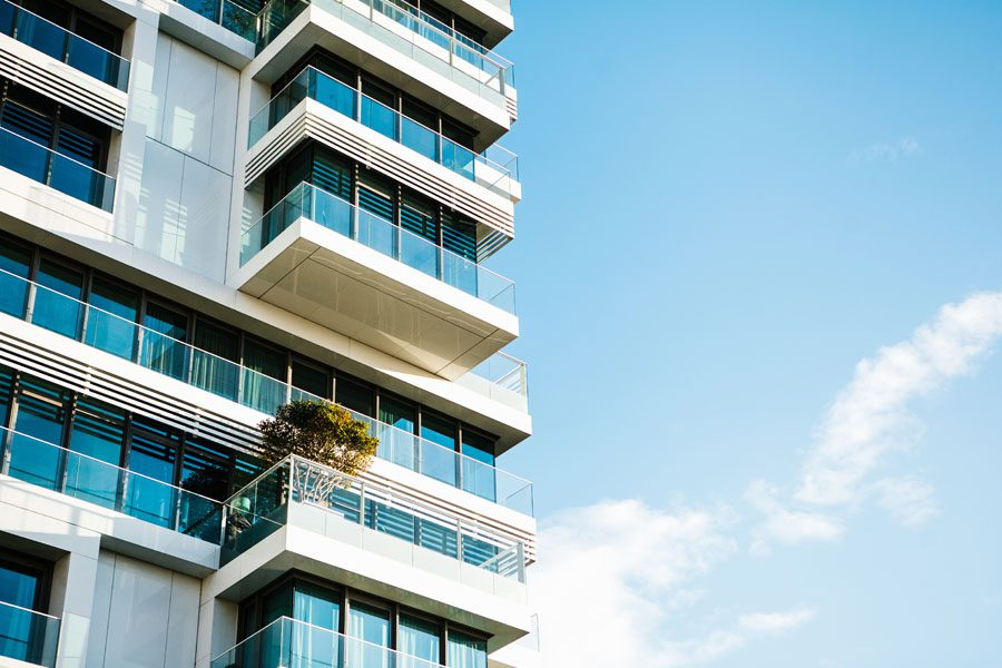 Condo Insurance - High Rise Condo in Blue Sky