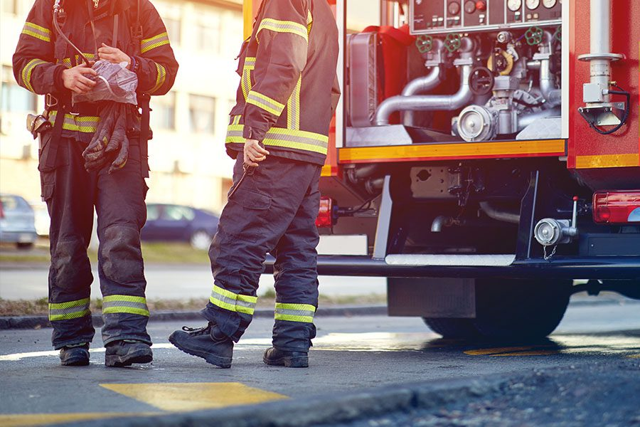 Fire Department Insurance - Group of Firefighters Waiting to Go On a Fire Call