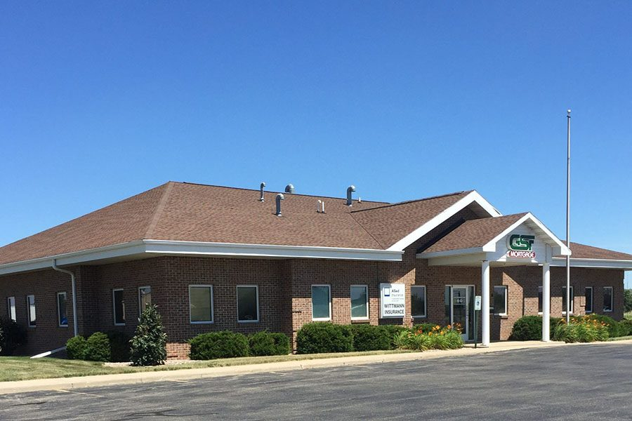 About Our Agency - Exterior View of Wittmann Insurance Office Building in Little Chute Wisconsin