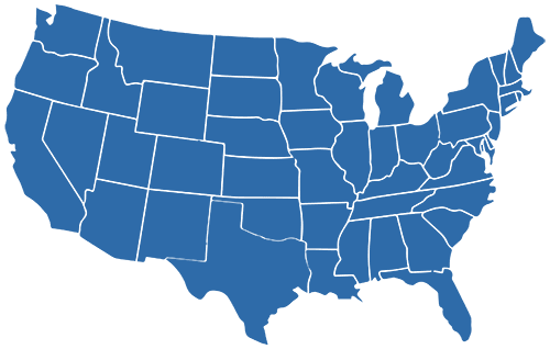 Blue-USA-Map