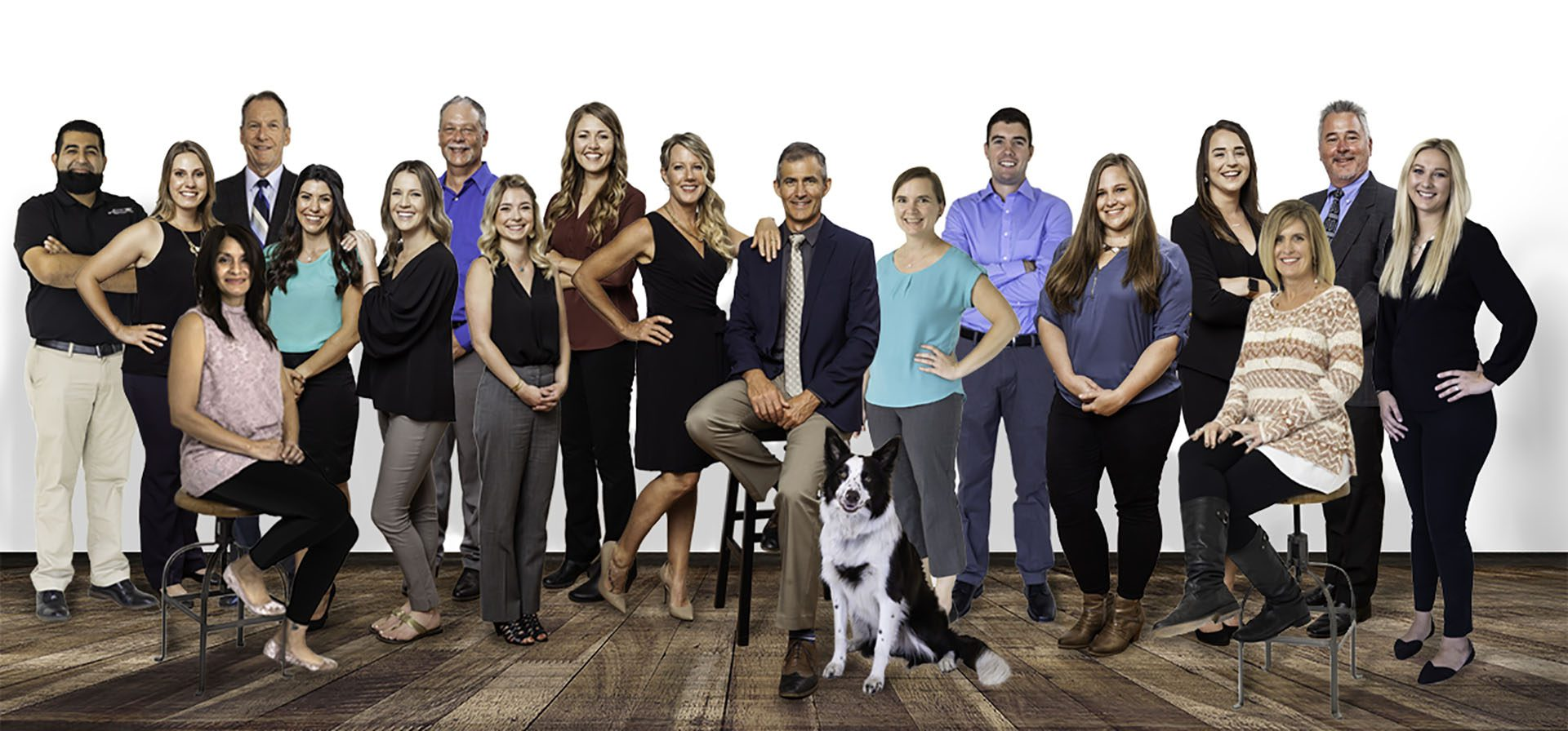 Homepage - View of Smiling Heritage Insurance Agency Team