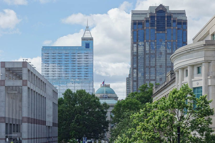 Contact - Tall Buildings in Raleigh, North Carolina