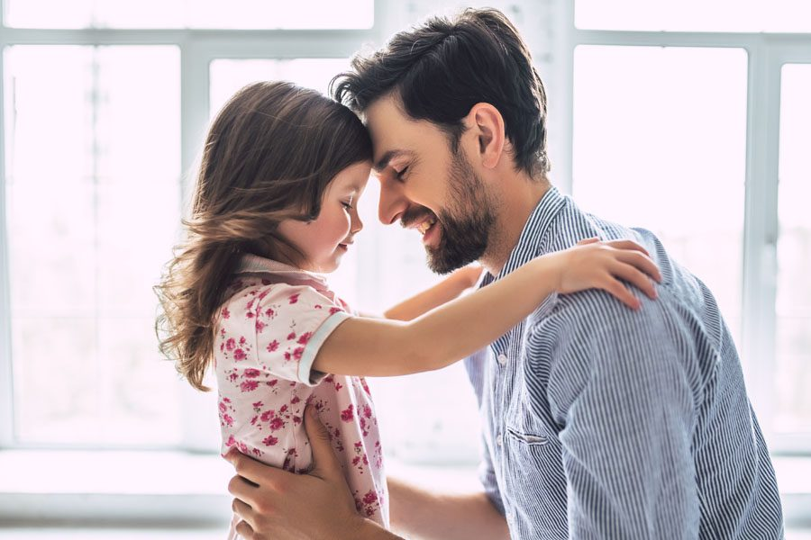 Life and Accidental Death and Dismemberment Insurance - Father and Daughter Hug