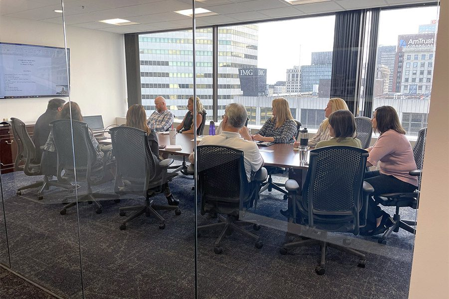 We Are Independent - View of a Business Conference Inside the Armada Risk Partners Office Building