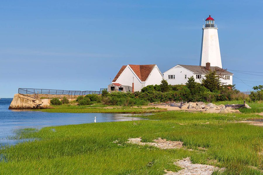 Homepage - Lynde Point Lighthouse at Old Saybrook in Connecticut