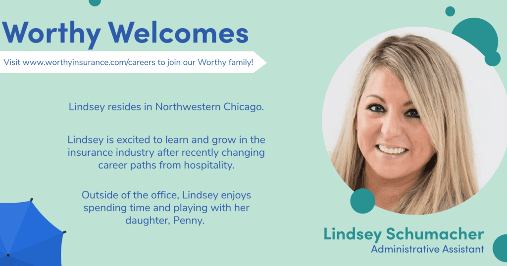 Lindsey Welcome Graphic