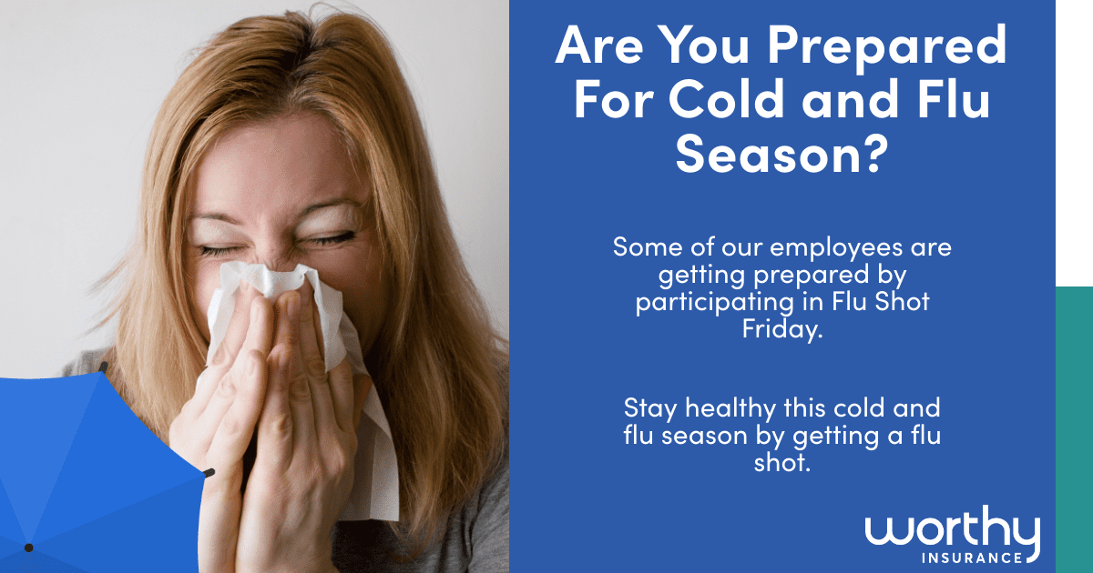 flu shots to prepare for the cold and flu season