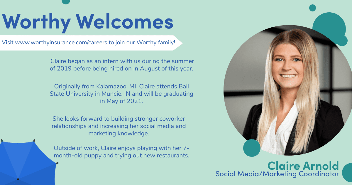 our new hire Claire
