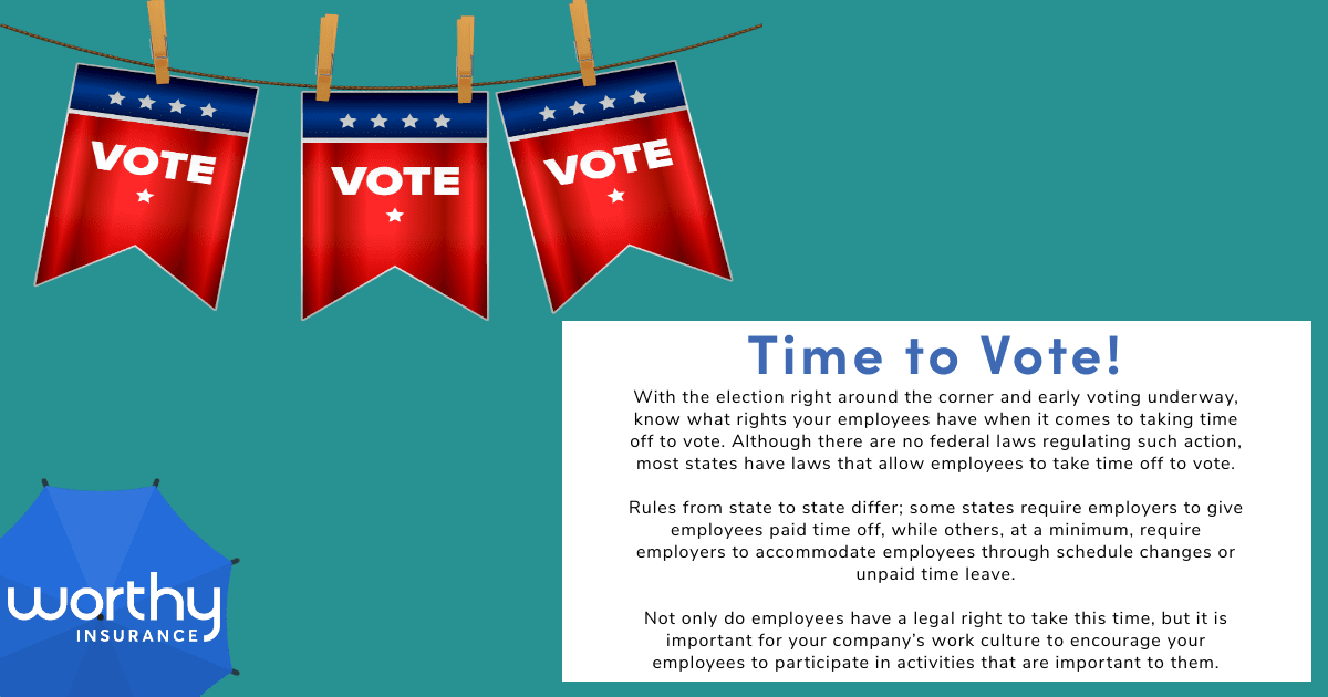 emphasizing the right to vote and exercising that right