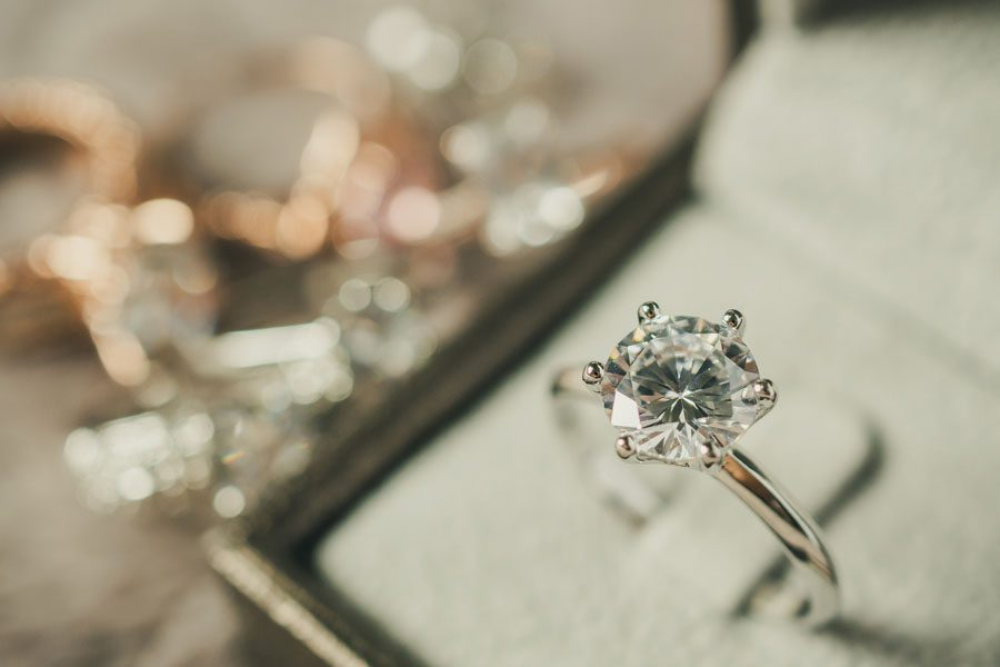 Valuable Possessions Insurance - Diamond Ring in a Box