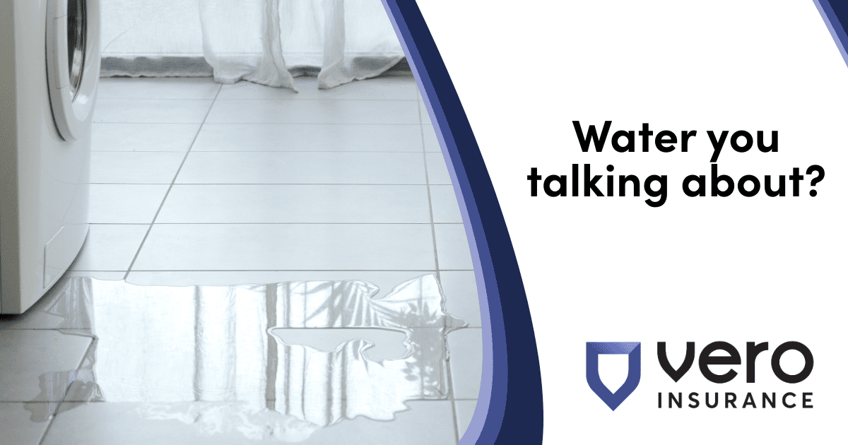 What is a water backup policy