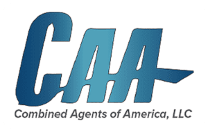 Combined Agents of America Logo White
