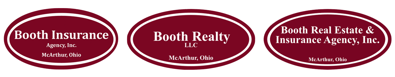 Booth Insurance and Realty Logos