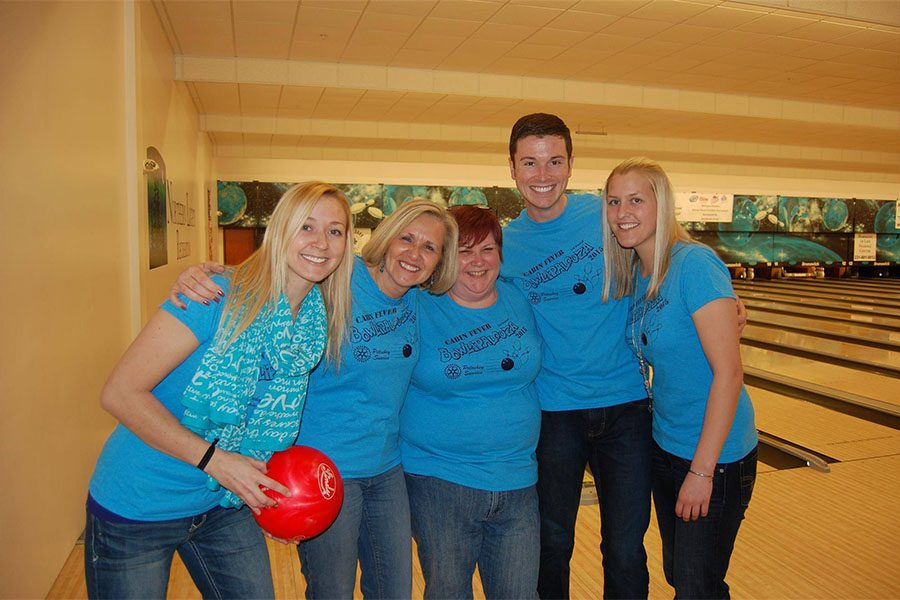 Our Culture - Harbor Brenn Insurance Staff Having Fun at Bowling Event