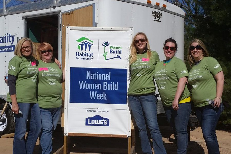 Our Culture - Harbor Brenn Insurance at National Women Build Week Event with Habitat for Humanity