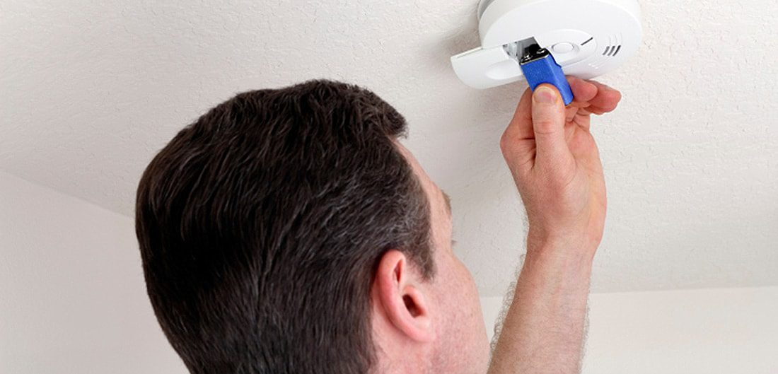 Overlooked home projects include changing smoke alarm batteries.