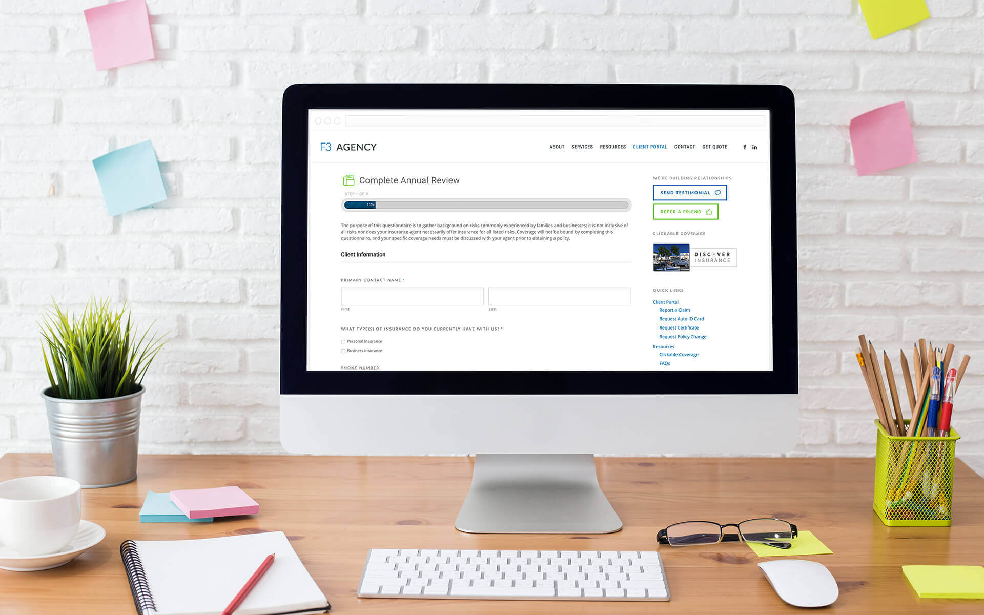 5 ways insurance agencies can use website forms to improve business