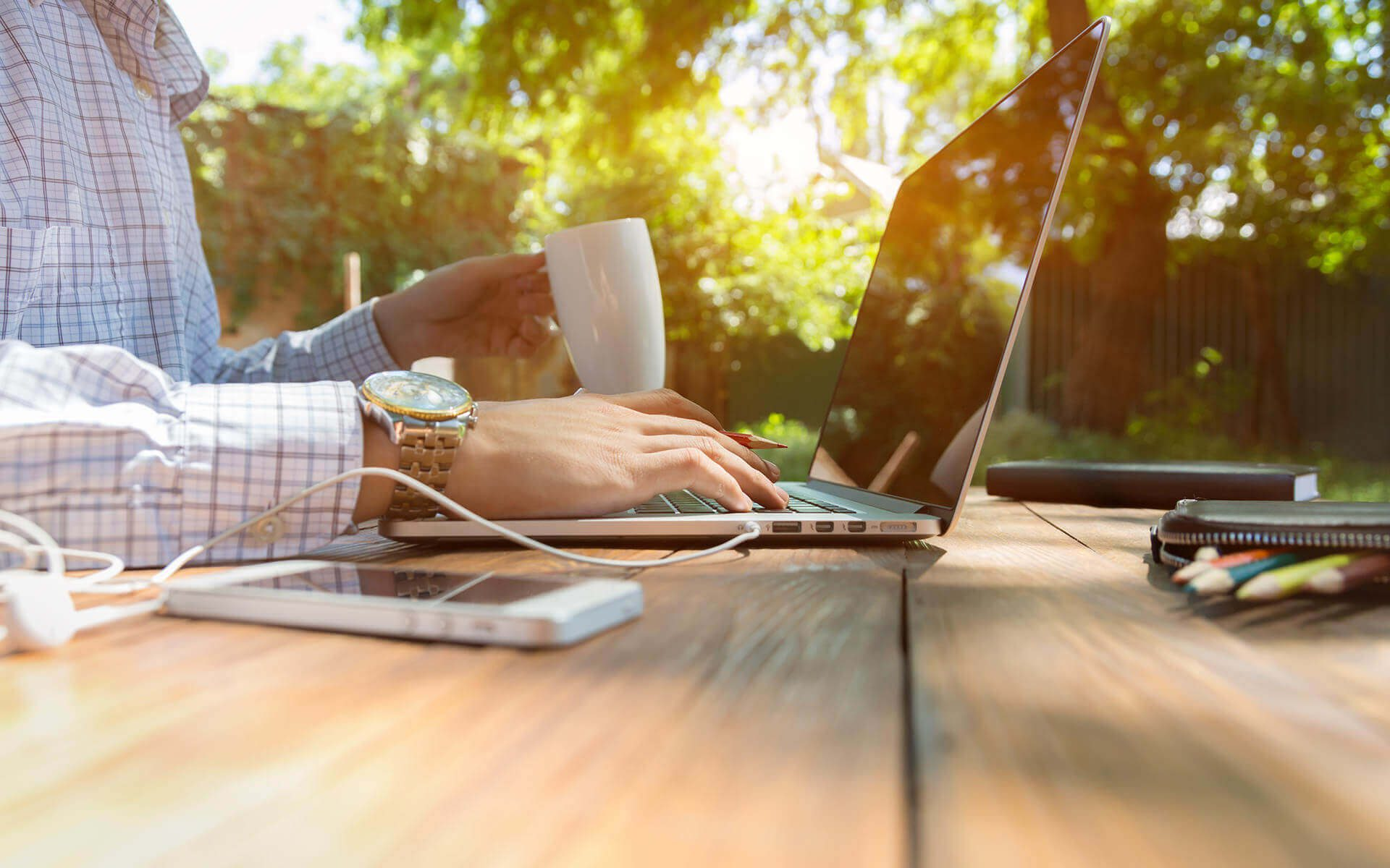 84 percent of businesses have a remote workforce