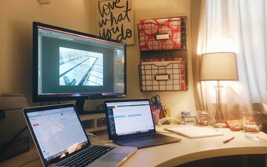 A week in the life of Forge3 designer Liz Allebach - Desk