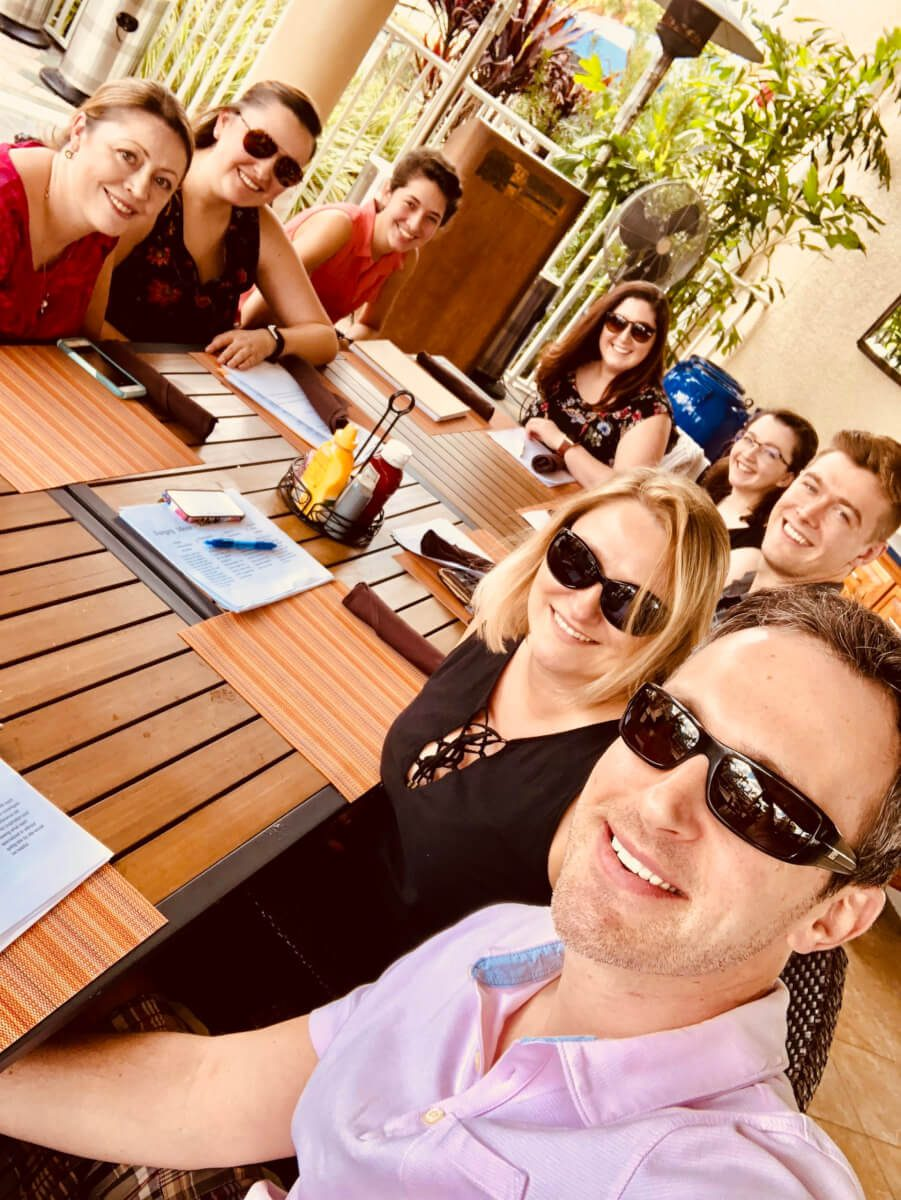 Photos from our 2018 team trip to Naples, FL - 4