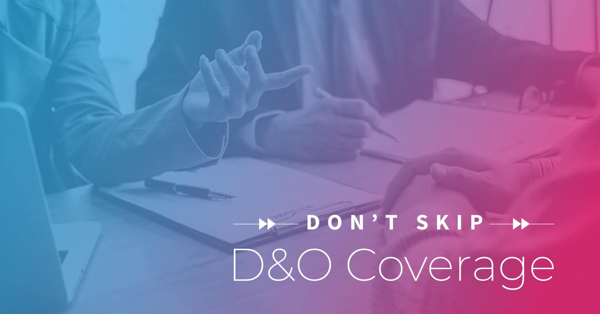 Social Business - Don't Skip D&O Coverage