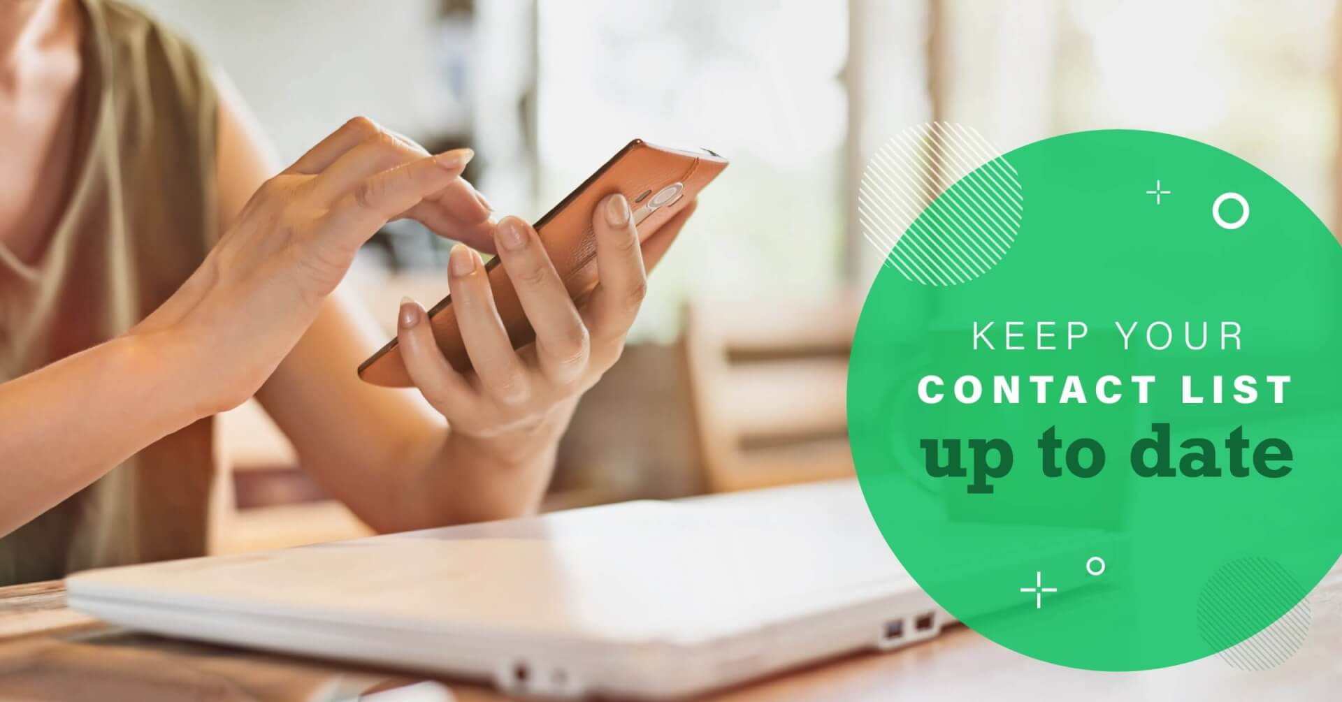 Social Business - Keep Your Contact List Up To Date