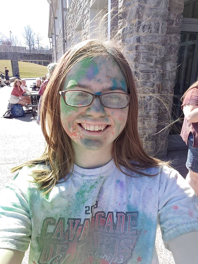Becky Hane - Color Run