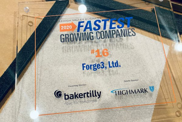 Forge3 Is a 2020 Fastest Growing Company
