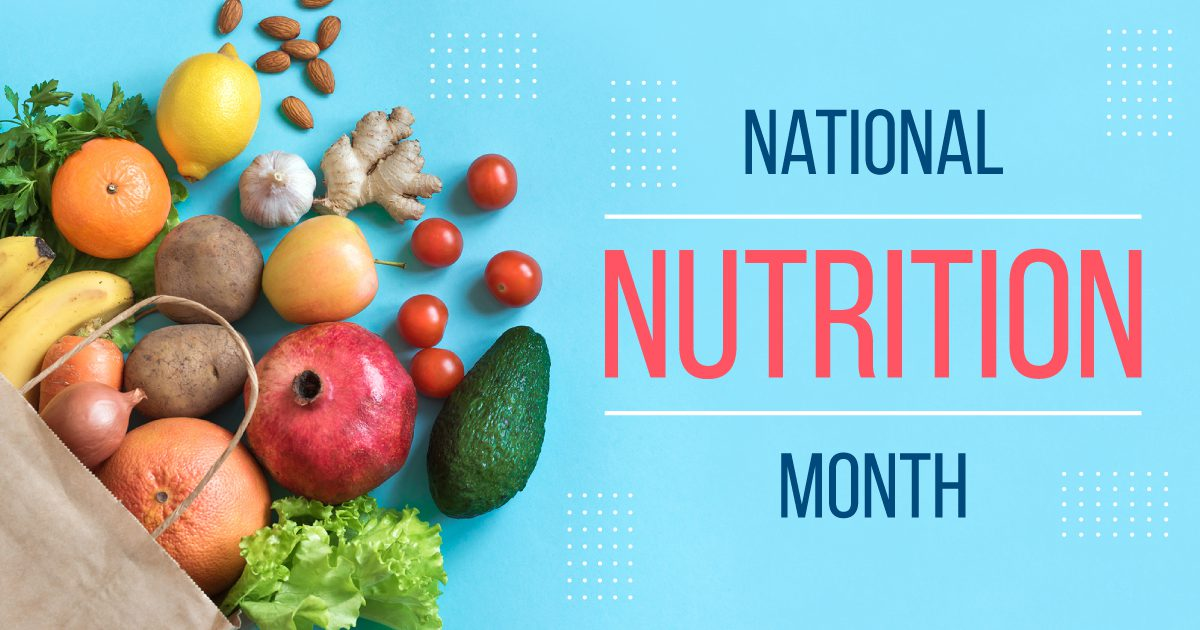 Social General - National Nutrition Month