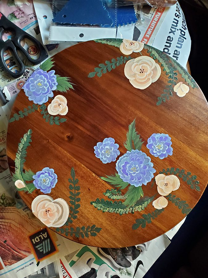 Keira Lenig - Painted Table