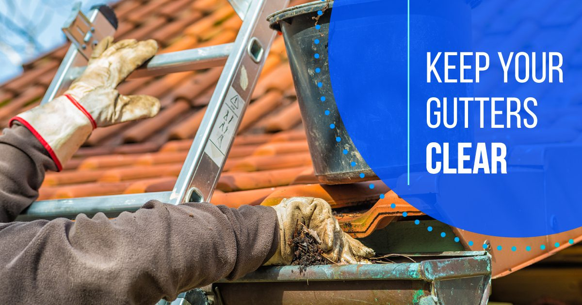 Personal Social - Keep Your Gutters Clear